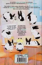 Verso de Globule -2- Une vie de jeune lapin