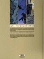 Verso de Forces spéciales -2- Chasse à l'homme dans les balkans