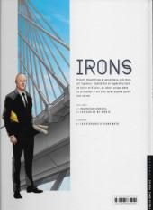 Verso de Irons -2- Les sables de Sinkis