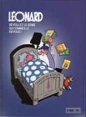 Verso de Léonard -50- Génie, vidi, Vinci !
