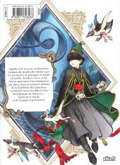 Verso de L'atelier des sorciers -4- Volume 4