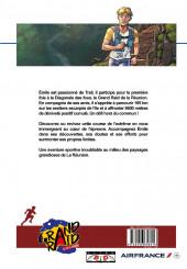 Verso de La diagonale des Fous - Le Grand Raid de la Réunion