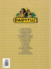 Verso de Papyrus -14a1998/07- L'île Cyclope