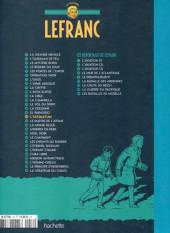Verso de Lefranc - La Collection (Hachette) -16- L'ultimatum