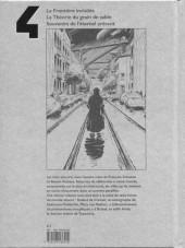 Verso de Les cités obscures -INT4- Livre 4