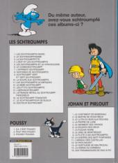 Verso de Les schtroumpfs -2d04- Le Schtroumpfissime
