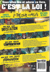 Verso de Judge Dredd/Aliens/Predator -INT- La totale! triple dérouillée
