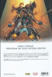 Verso de All-New Wolverine -4- Immunisée