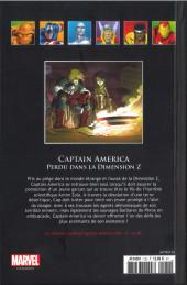 Verso de Marvel Comics - La collection (Hachette) -13287- Perdu dans la Dimension Z