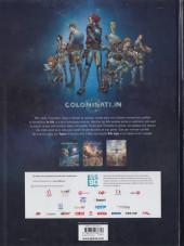 Verso de Colonisation -1a48hBD2019- Les naufragés de l'espace