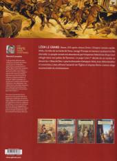 Verso de Un pape dans l'histoire -2- Léon le grand - Défier Attila