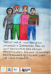 Verso de Il y a un mystère à Ispagnac - Tome 1