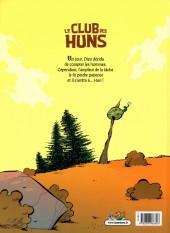 Verso de Le club des Huns -1- Des Huns pitoyables
