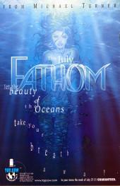 Verso de Michael Turner's Fathom (1998) -0- Issue 00