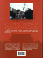 Verso de Tiananmen 1989. Nous espoirs brisés -1- Tiananmen 1989. Nos espoirs brisés