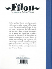 Verso de Filou la chasse au Tchouk Tchouk