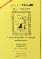 Verso de (DOC) DBD -1- Franquin