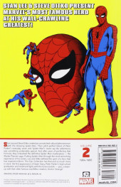 Verso de Amazing Spider-Man Epic Collection (The) (2013) -INT02- Great Responsibility