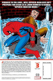Verso de The amazing Spider-Man Epic Collection (2013) -INT03- Spider-Man No More