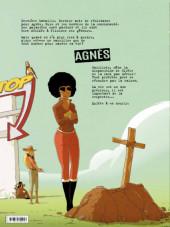 Verso de Parasites -3- Agnès