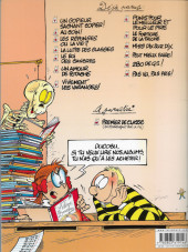 Verso de L'Élève Ducobu -1a2008- Un copieur sachant copier !