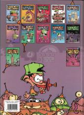 Verso de Kid Paddle -1a2007- Jeux de vilains