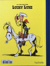 Verso de Lucky Luke - La collection (Hachette 2018) -346- Dalton city