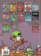 Verso de Kid Paddle -9a2007- Boing ! Boing ! Bunk !