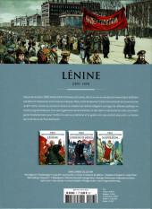 Verso de Les grands personnages de l'histoire en bandes dessinées -7- Lénine