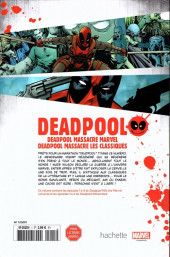 Verso de Deadpool - la collection qui tue (hachette) -164- Deadpool massacre Marvel / Deadpool massacre les classiques