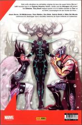 Verso de Avengers (Marvel France - 2019) -3- L'origine secrète de l'univers marvel