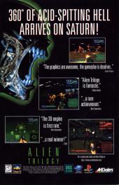 Verso de Sliders Darkest Hour (1996) -2- Dimensional Shadows