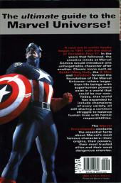 Verso de Marvel Encyclopedia - Tome 1