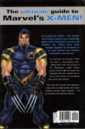 Verso de Marvel Encyclopedia -2- X-Men