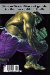 Verso de Marvel Encyclopedia -3- The Hulk