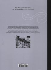 Verso de Les grands Classiques de la Bande Dessinée érotique - La Collection -7955- Magenta - Tome 4
