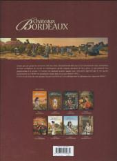 Verso de Châteaux Bordeaux -7a2018- Les Vendanges