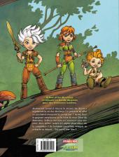Verso de Arthur et les Minimoys (2e Série) -1- La Course des 7 Terres
