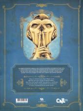 Verso de Dans la tête de Sherlock Holmes -1- L'Affaire du Ticket Scandaleux 1/2