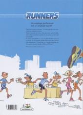 Verso de Runners (les) -1- Premières foulées
