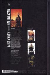Verso de Hellblazer (Mike Carey présente) -3- Volume III