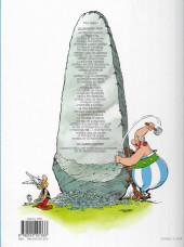 Verso de Astérix (Hachette) -1d2018- Astérix Le Gaulois