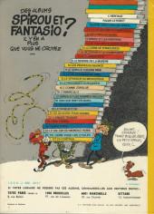 Verso de Spirou et Fantasio -9b1976- Le repaire de la murène