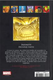 Verso de Marvel Comics - La collection (Hachette) -13397- Infinty - Deuxième Partie
