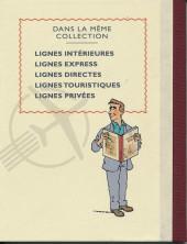 Verso de Tintin - Pastiches, parodies & pirates - Lignes Intérieures 2