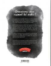 Verso de L'art du sushi