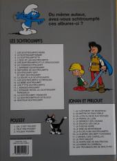 Verso de Johan et Pirlouit -2f2014- Le Maître de Roucybeuf