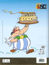 Verso de Astérix (Publicitaire) - 60 ans d'aventures Astérix