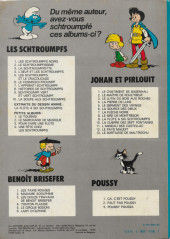Verso de Johan et Pirlouit -12b1978- Le pays maudit