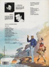 Verso de Bernard Prince -8b1984- La flamme verte du conquistador